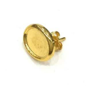 4ca1ecd70fe5 pendiente de disco con anilla barato online oro viejo fabricado en ...