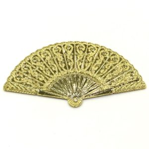 GOLD BRIGHT METALLIC FAN
