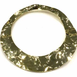 GOLD FLAMENCO METAL RING