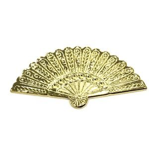 GOLD BRIGHT METALIC FAN