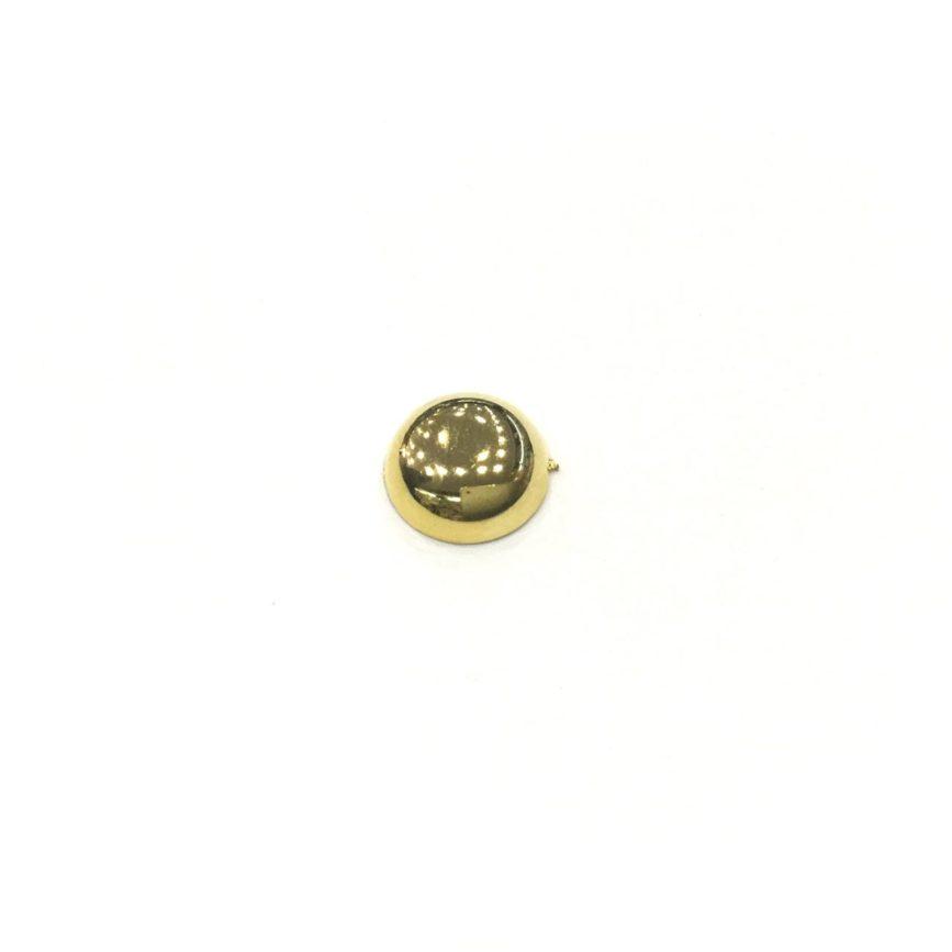 TACHA DORADA 11mm