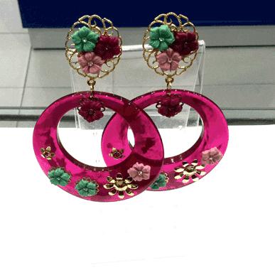 pendientes-aro-resina-flamenca-vinda
