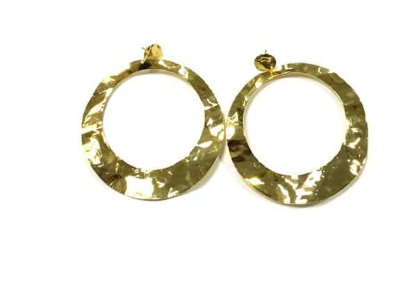 pendientes originales dorados