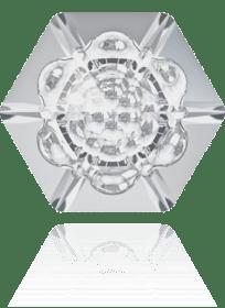 cristal hexágono