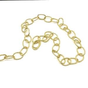 cadena dorada eslabones grandes vinda