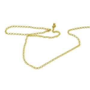 cadena eslabones dorados