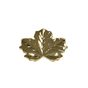 MEDIUM GOLD VINE LEAF