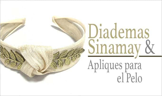 comprar diademas sinamay online