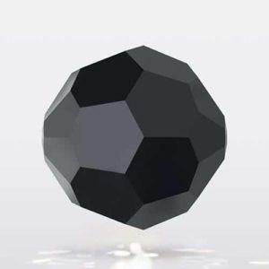 Bola Cristal swarovski negra 3 mm