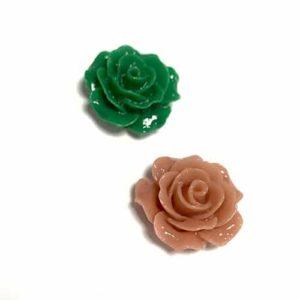Flores plastico para hacer bisuteria