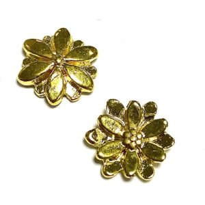 FLEUR OR BRILLANT 10MM