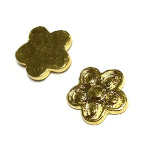 11MM GOLD FLOWER