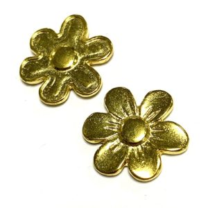 FLEUR OR BRILLANT 17MM