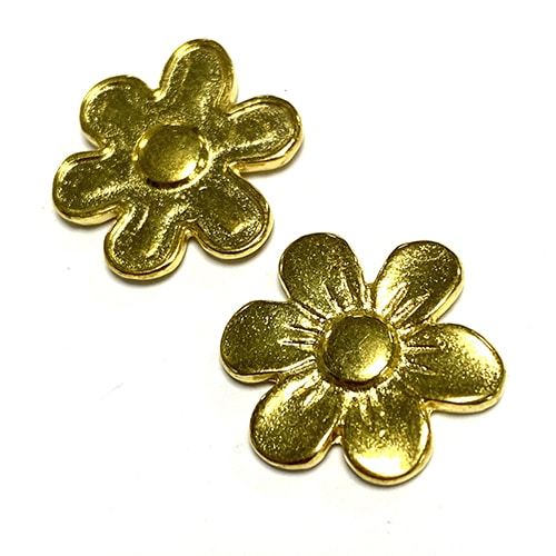 GOLD FLOWER 17MM