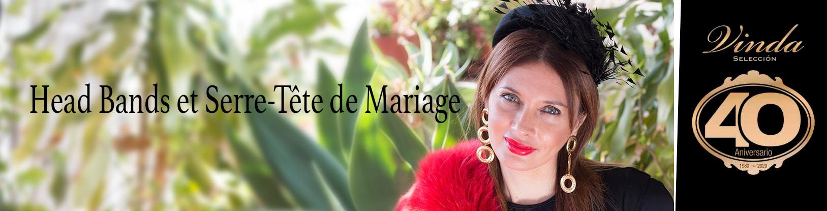 Headbans et serre-tête de mariage