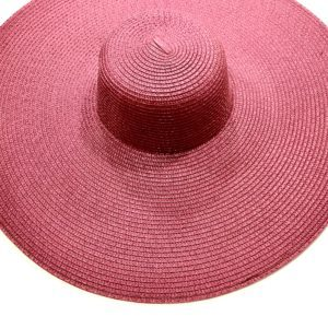 SYNTHETIC STRAW OR POLYPROPYLENE HATS