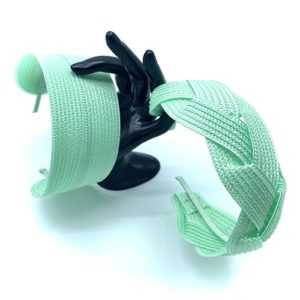 WATER GREEN POLYPROPYLENE HEADBAND