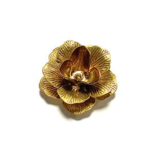 BRASS METALLIC FLOWER