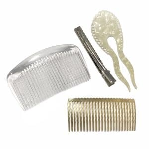 HAIR COMBS, HEADBANDS AND HAIR PINS